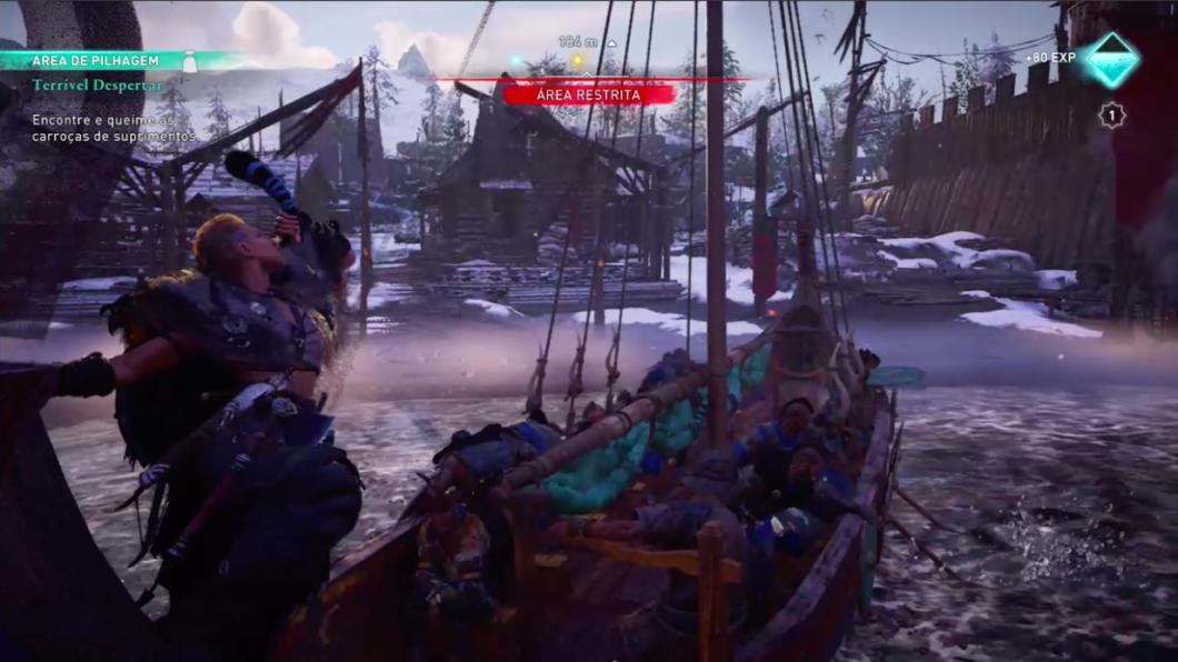 Incursões são ponto alto em Assassin's Creed Valhalla (Imagem: Felipe Vinha/Tecnoblog)