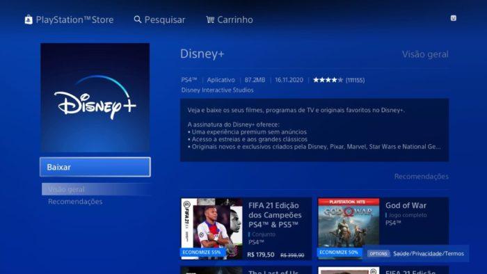 Como assistir ao Disney+ no Xbox One e PS4 / Reprodução / Disney+