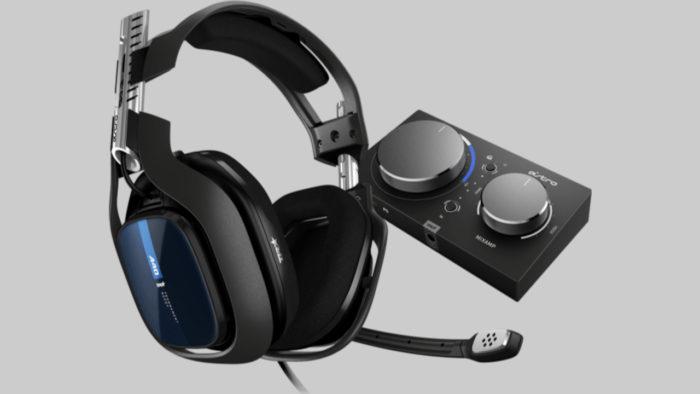Headset ASTRO A40 TR e Mixamp Pro TR (imagem: Divulgação/ASTRO Gaming)