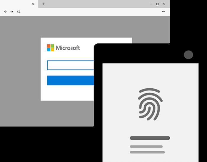Autenticação em duas etapas (Imagem: divulgação/Microsoft)