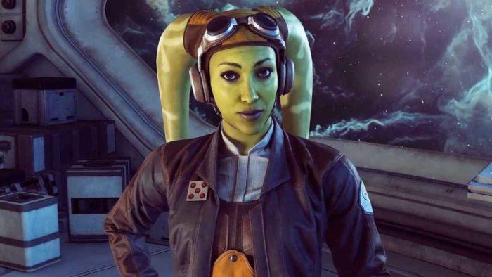 Jogos recentes, como Star Wars Squadrons, estão mais baratos na Black Friday da Epic (Imagem: EA/Divulgação)