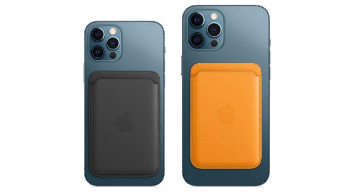 Carteira MagSafe para iPhone 12 (Imagem: Divulgação/Apple)