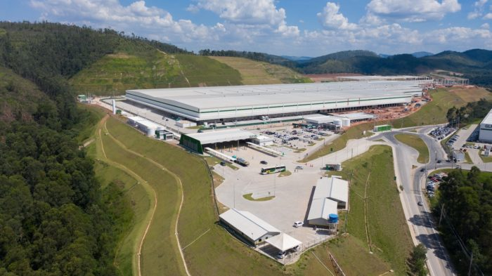 Centro de distribuição do Mercado Livre em Cajamar (Imagem: Divulgação/Mercado Livre)