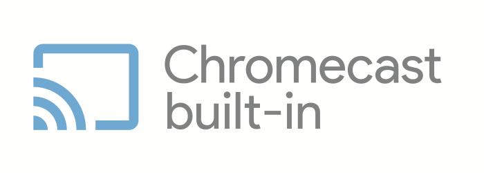 Selo Chromecast built-in (Imagem: Reprodução/Google)