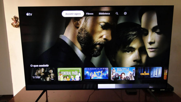 Apple TV+ em TV Samsung (Imagem: Ronaldo Gogoni/Meio Bit)