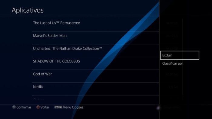 Como excluir um jogo do PS4 / Reprodução / PlayStation 4