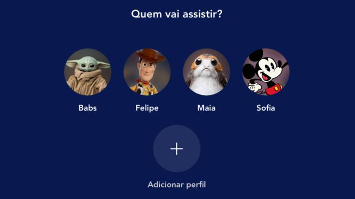Como criar um perfil no Disney+ (Imagem: Reprodução/Disney)