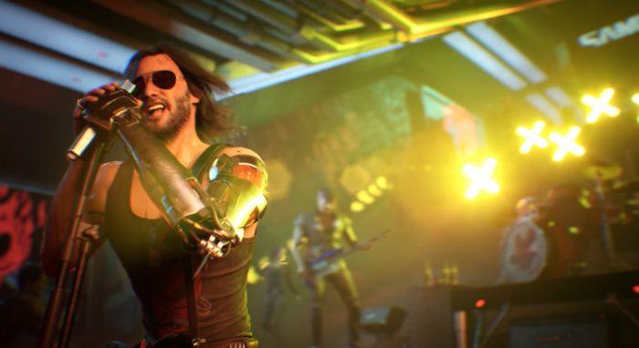 Músicas de Grimes e Nina Kraviz estão em Cyberpunk 2077 (Imagem: CD Projekt Red/Divulgação)