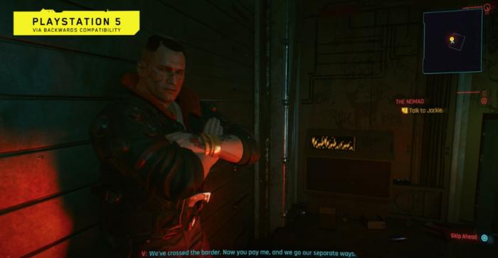 Cyberpunk 2077 é demonstrado no PS5 pela primeira vez (Imagem: CD Projekt RED/Divulgação)