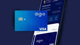Digio lança cashback no cartão de crédito e 130% do CDI na conta