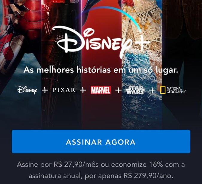 Os preços do Disney+ (Imagem: PeHeScamander/Twitter)