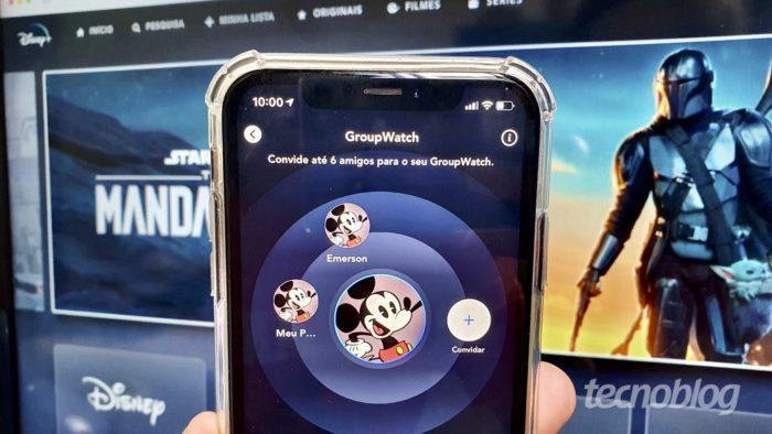 Disney+ chega ao Brasil com GroupWatch (Imagem: Bruno Gall De Blasi/Tecnoblog)
