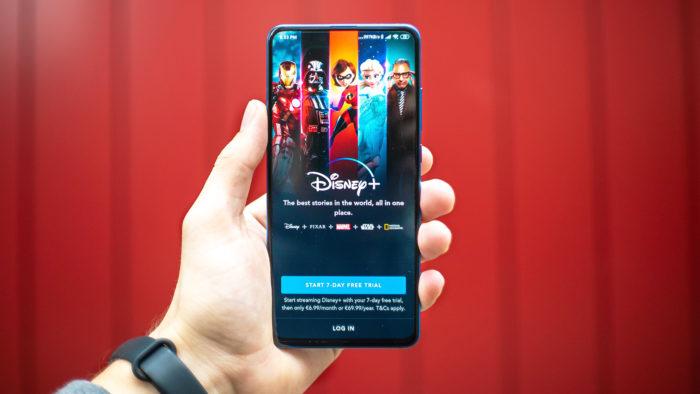 App Disney+ (Imagem: Mika Baumeister/Unsplash)