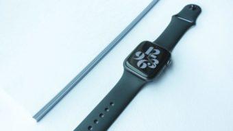Como limpar a pulseira e o Apple Watch