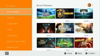 Nintendo eShop para Switch está chegando ao Brasil com 400 jogos