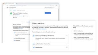 Google exige que extensões do Chrome expliquem coleta de dados