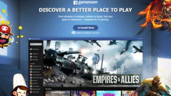 O que aconteceu com o Facebook Gameroom?