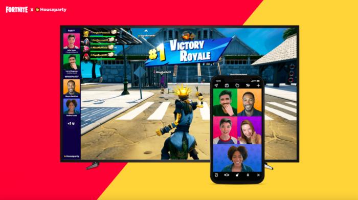 Houseparty traz chat de vídeo ao Fortnite (Imagem: Epic Games/Divulgação)