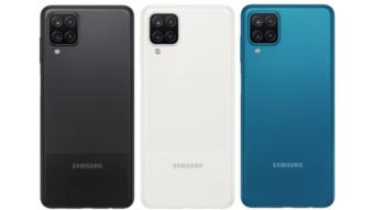 Samsung anuncia Galaxy A12 e A02s baratos e com bateria grande
