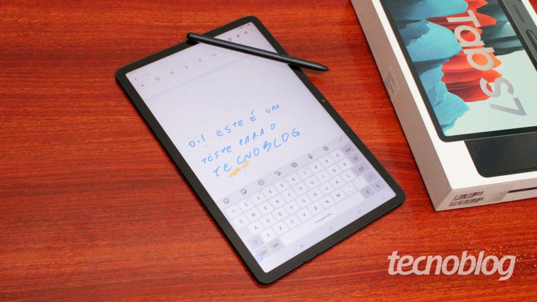 Samsung Notes (image: Emerson Alecrim / Tecnoblog)