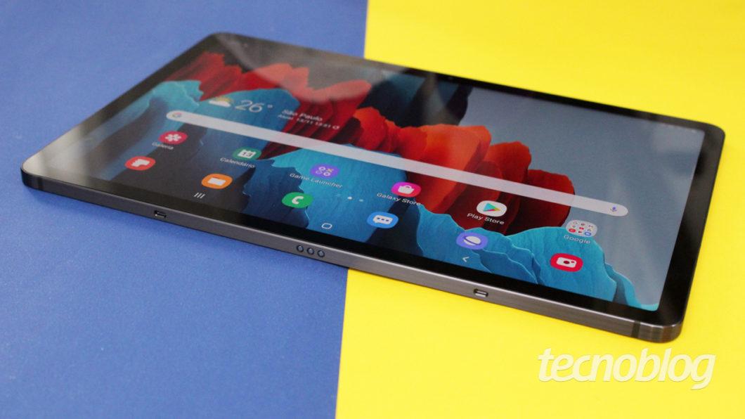 Galaxy Tab S7 (image: Emerson Alecrim / Tecnoblog)
