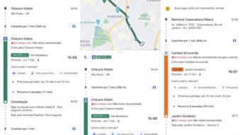 Google Maps avisa em tempo real se o ônibus estiver lotado