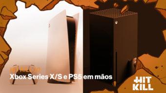 Hit Kill 10 – Xbox Series X/S e PS5 em mãos
