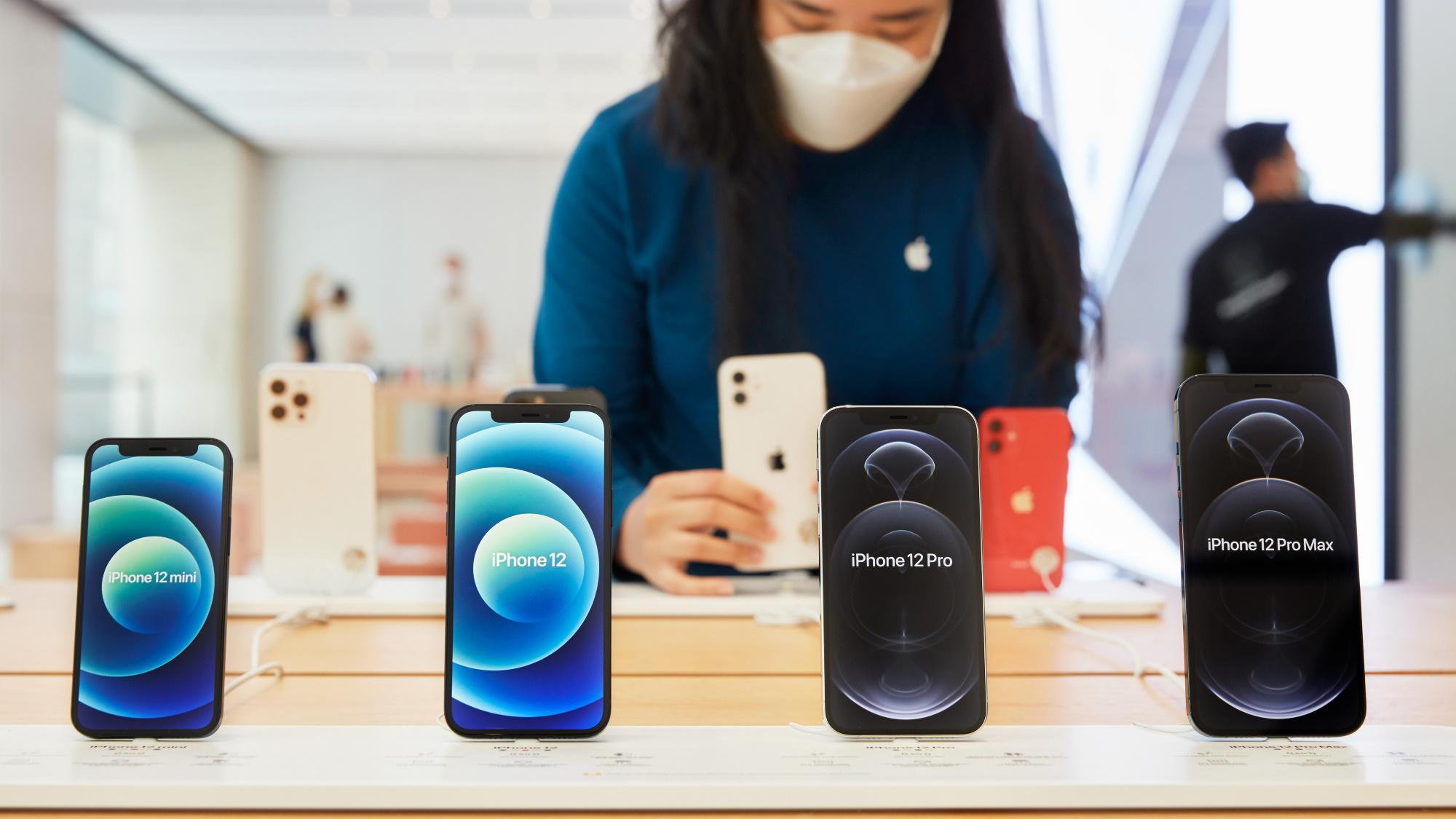 iPhone 12 Mini, 12, 12 Pro e Pro Max (Imagem: Divulgação/Apple)