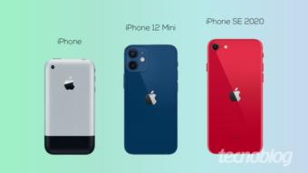 iPhone 12 Mini vs iPhones pequenos; qual é o menor modelo?