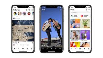 Instagram libera botões Reels e Loja para todos os usuários