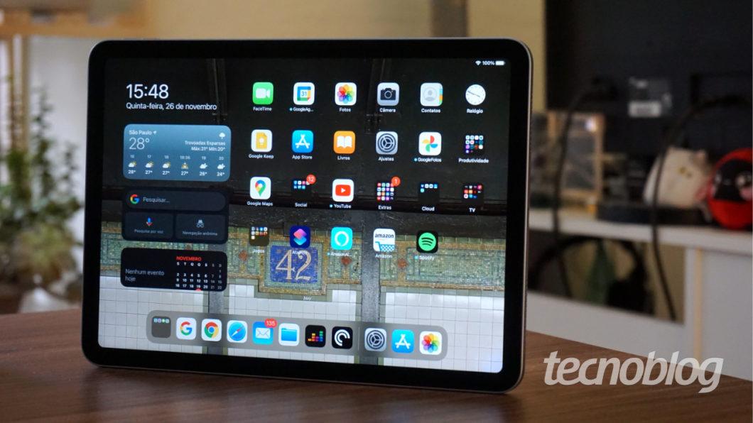 iPad Air (2020) (Image: André Fogaça / Tecnoblog)