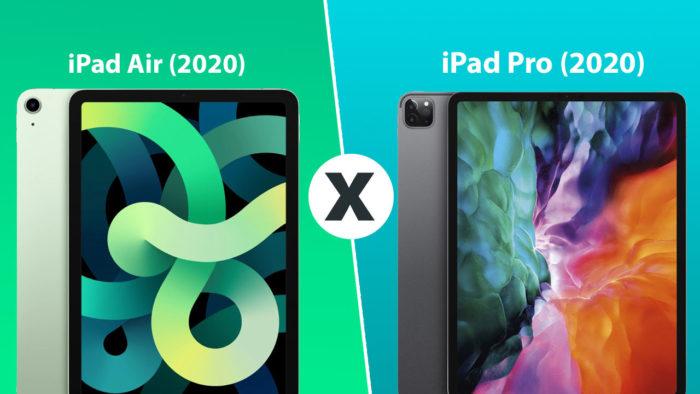 iPad Air 2020 vs iPad Pro 2020 (Imagem: Tecnoblog)