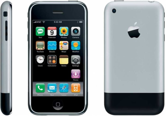 Small iPhone: iPhone 2007 was the smallest model ever released (Image: Press Release / Apple)