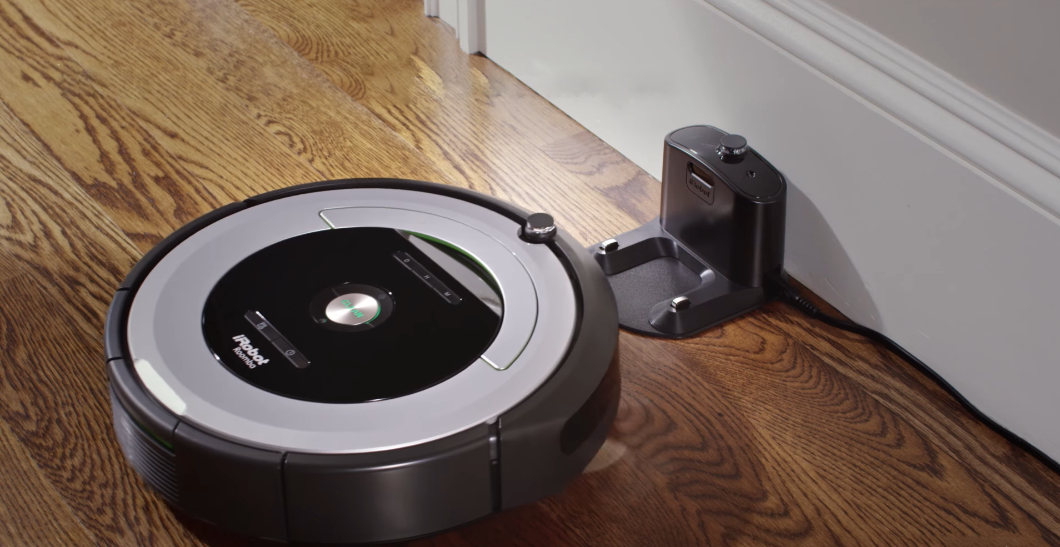 Base for Roombas of the 600 series (Image: disclosure / iRobot)