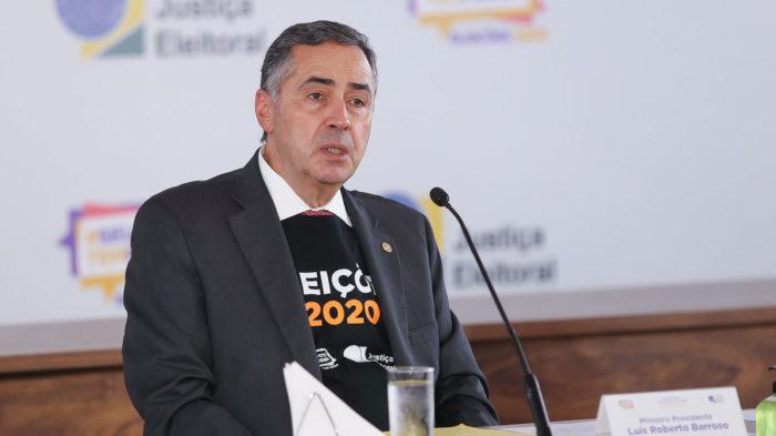 Luís Roberto Barroso, presidente do TSE (Imagem: Antonio Augusto/Ascom/TSE)