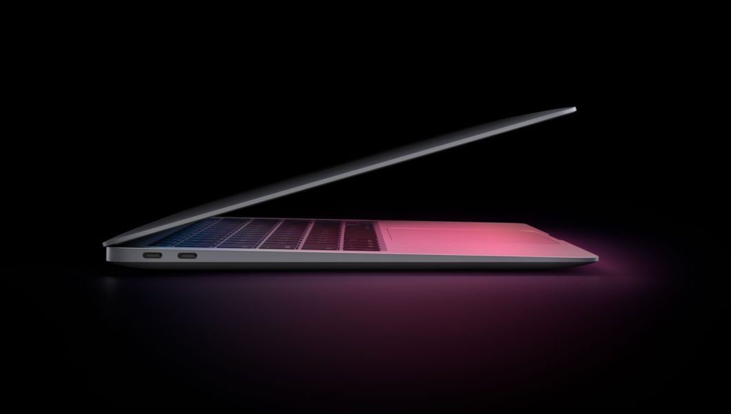 Novo MacBook Air com Apple Silicon (Imagem: Divulgação/Apple)