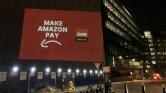 Funcionários da Amazon protestam durante Black Friday em vários países