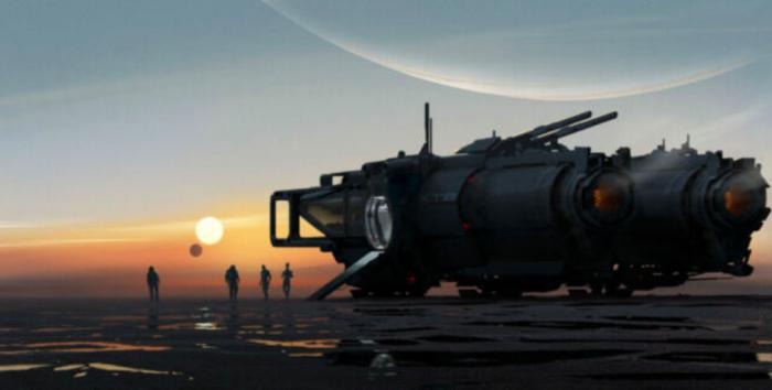 Imagem do novo projeto de Mass Effect não diz muito (Imagem: BioWare)
