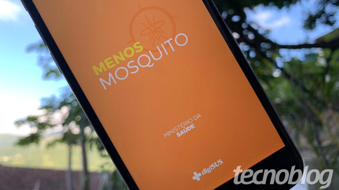 Prevenção da dengue: app Menos Mosquito