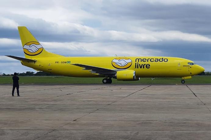 Boeing 737 do Mercado Livre