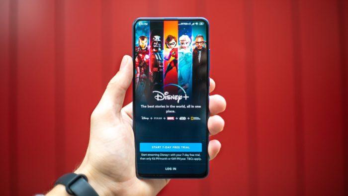 Aplicativo do Disney+ (Imagem: Reprodução/Unsplash)