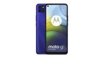 Moto G9 Power é oficial com a maior bateria da Motorola para um celular