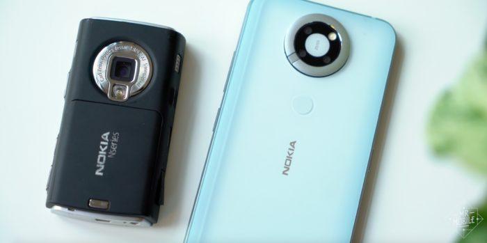 Protótipo do Nokia N95 (Imagem: Reprodução/Michael Fisher/Twitter)