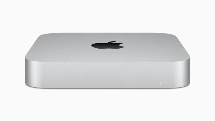 Novo Mac Mini com chip M1 (imagem: divulgação/Apple)