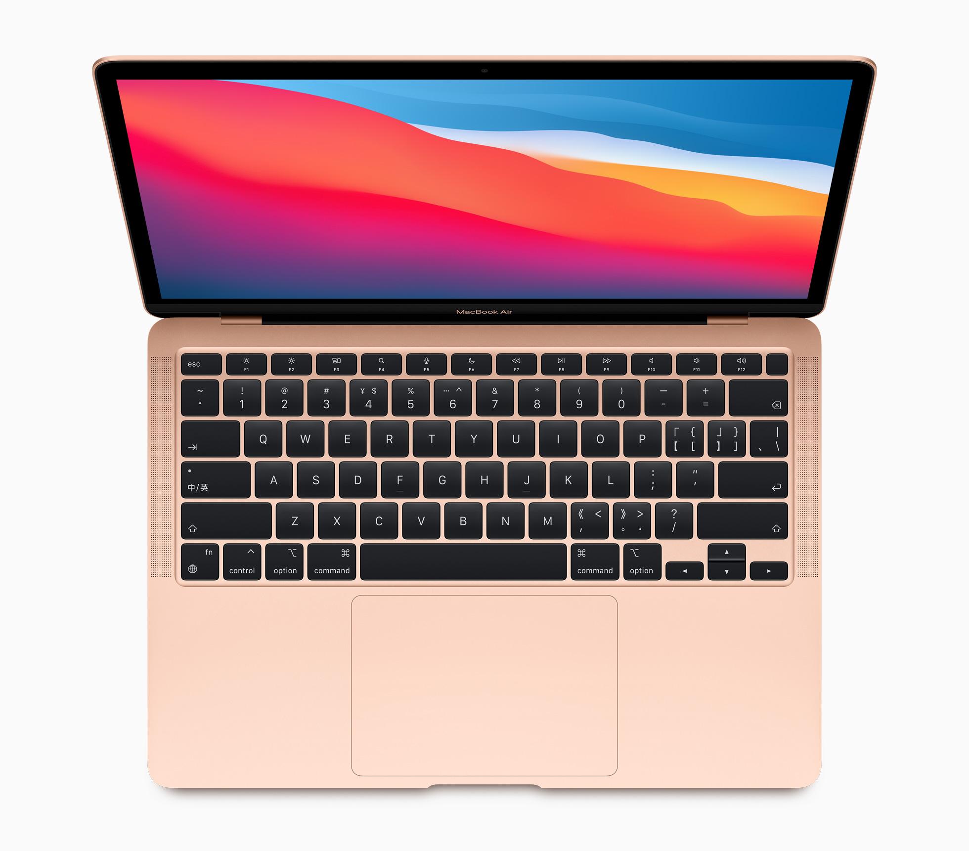 MacBook Air com chip M1 (Imagem: Divulgação/Apple)