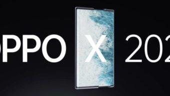Oppo revela conceito de celular com tela extensível