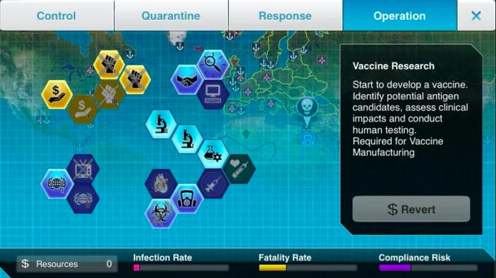 Novo modo de Plague Inc. te deixa acabar com pandemias (Imagem: Ndemic/Divulgação)