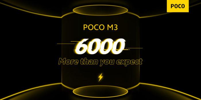 Xiaomi dá pistas sobre bateria de Poco M3 (Imagem: Reprodução/Poco/Twitter)