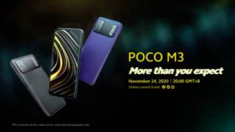 Xiaomi confirma bateria e tela do Poco M3 antes do lançamento