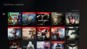 PS Plus Collection do PS5 também funciona no PS4